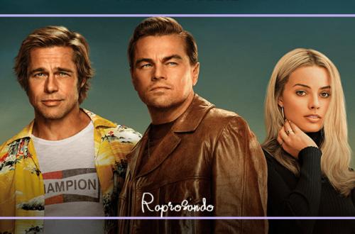Brad Pitt, Leonardo DiCaprio e Margot Robbie em Era uma Vez em... Hollywood