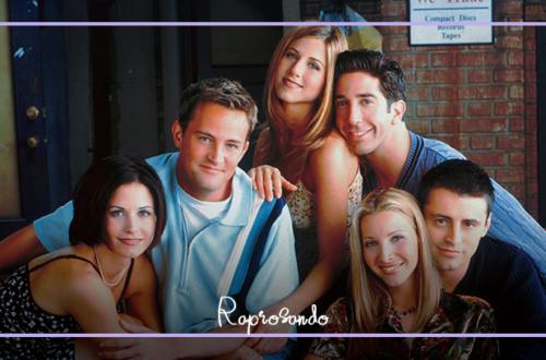 O elenco protagonista do seriado Friends