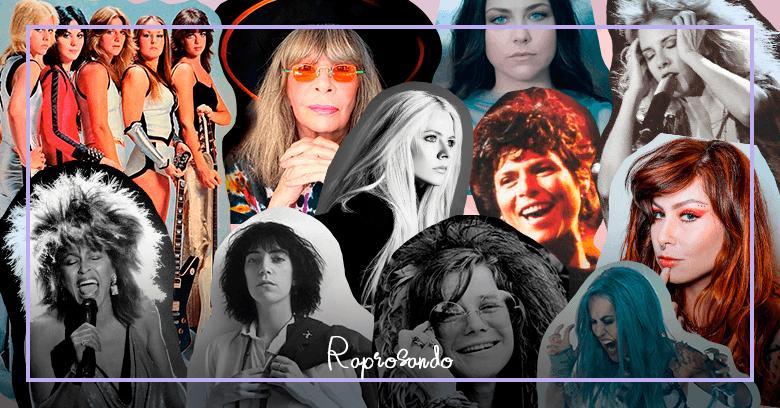 Dia Mundial do Rock! Comemore com elas!