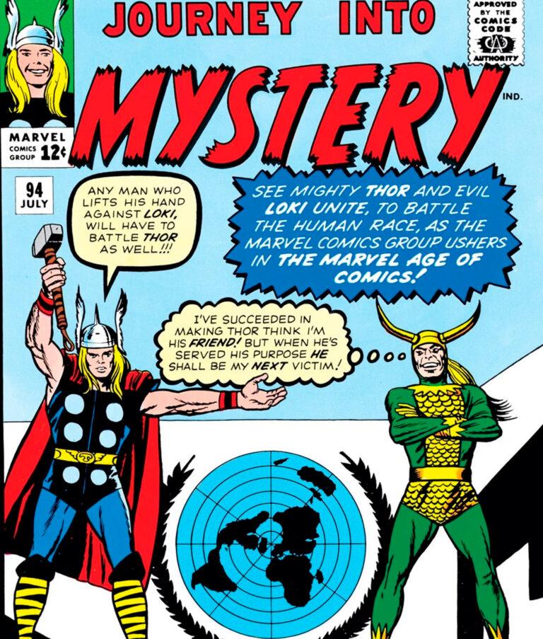 Quadrinhos da Jornada ao Mistério da Marvel