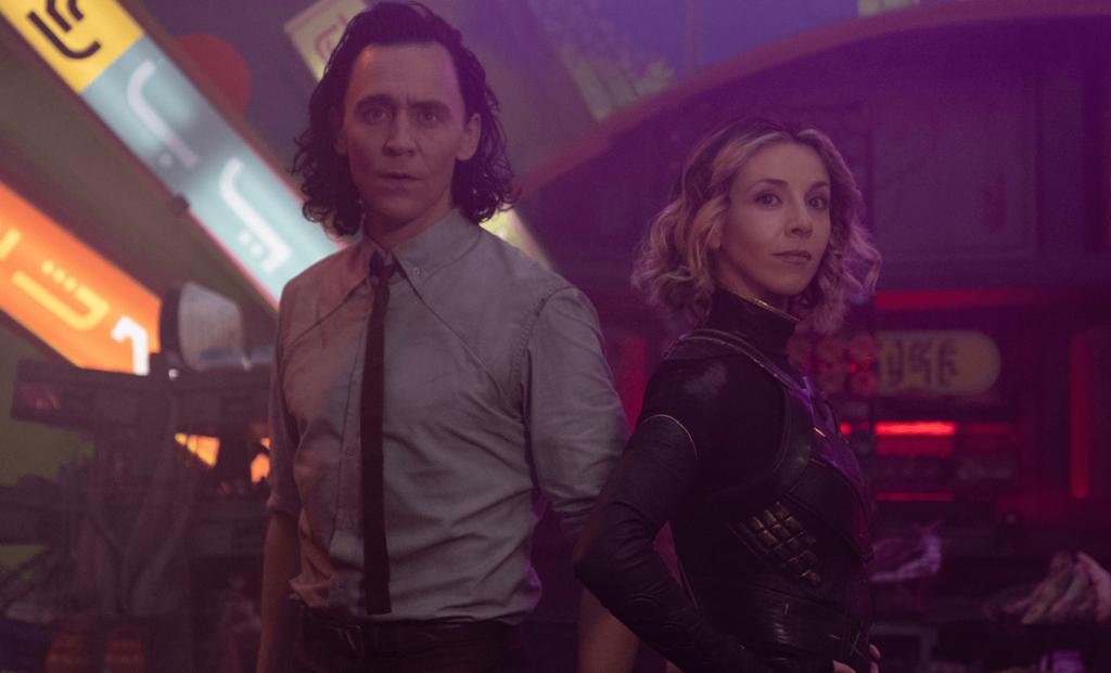 Sylvie e Loki em Lamentis, na série Loki na Disney+