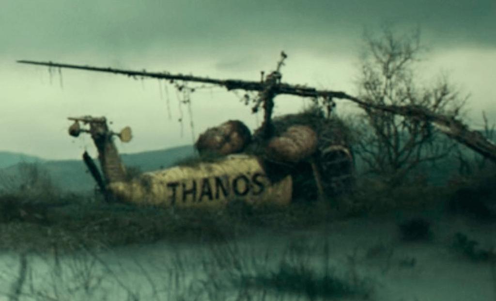 Helicóptero do Thanos (Thanos-Cóptero) em Jornada ao Mistério