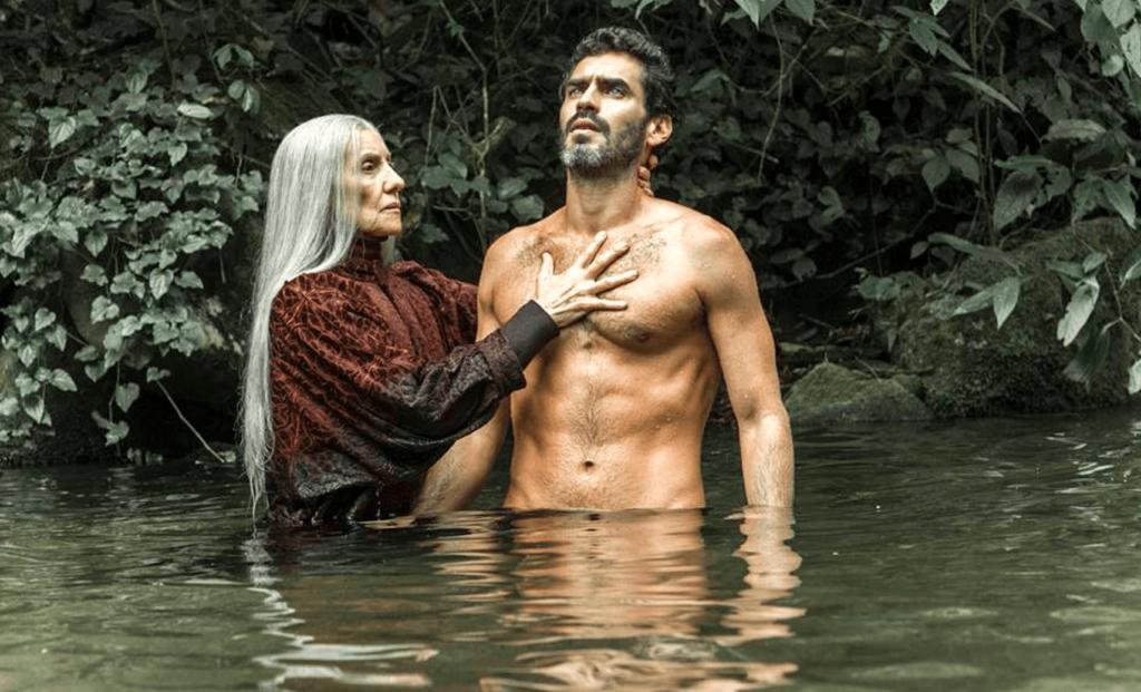 Haia e Roman em Desalma da Globoplay